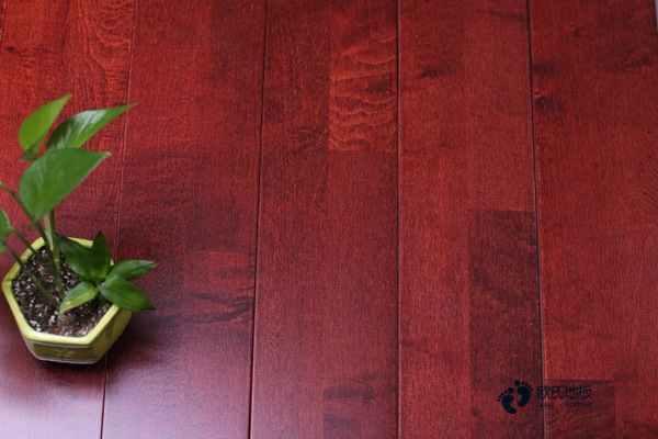 陕西枫木篮球木地板多少钱一平米