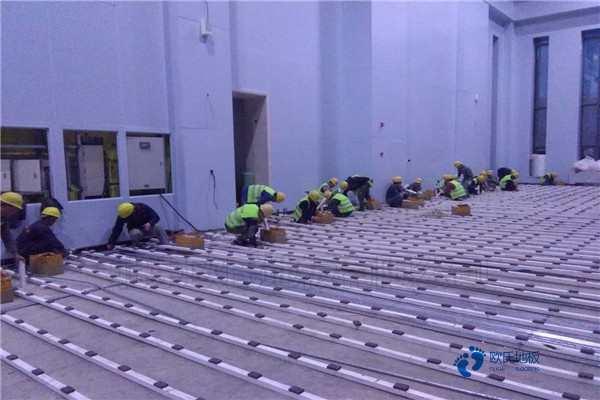 20厚体育馆实木地板怎么维修?