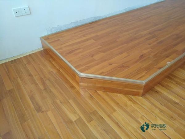 24厚NBA篮球场木地板品牌厂**