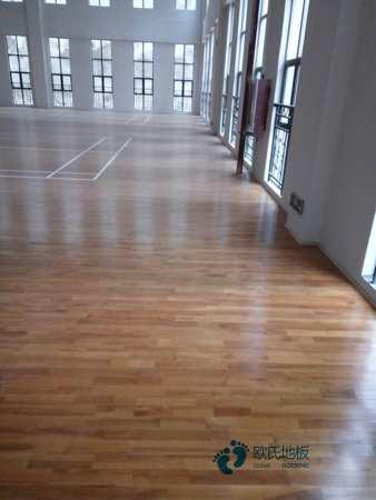 重庆枫桦木篮球木地板多少钱一平米