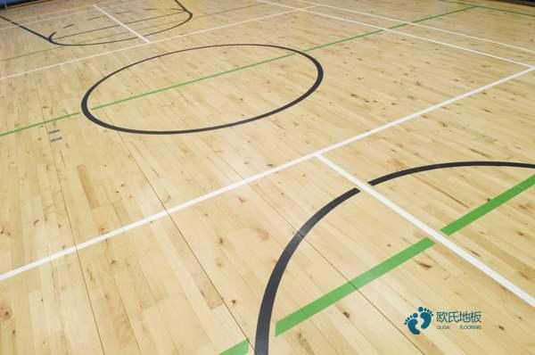 拼装体育运动地板翻新
