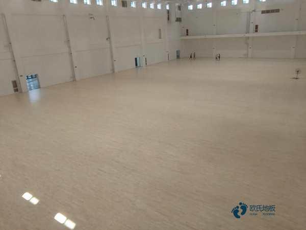 赛事场馆体育木地板施工技术