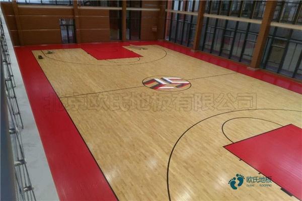 大型篮球馆地板价格表