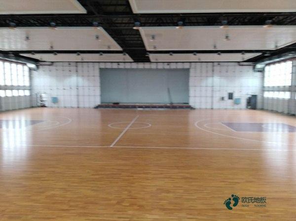 天津枫桦木篮球场地板多少钱一平方