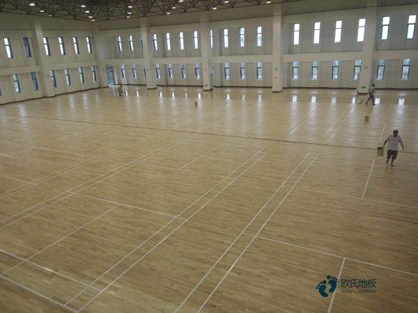 室内体育场木地板价格表