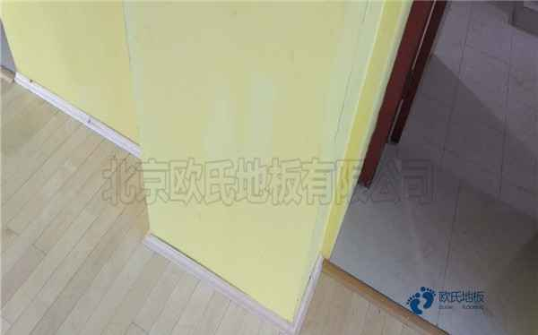 指接板体育馆木地板双层龙骨结构