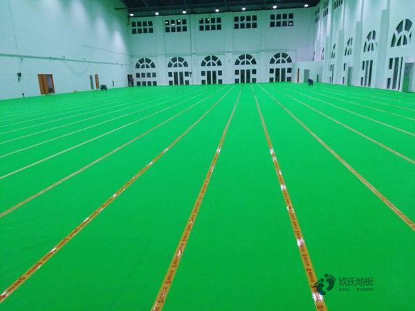 体育木地板踢脚线有啥作用?