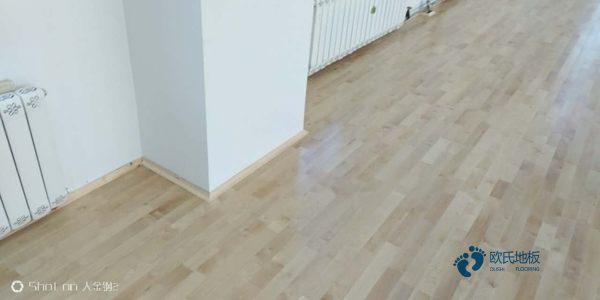 劣质体育木地板这么可怕