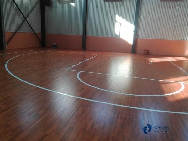 黑龙江柞木篮球场地板品牌电话