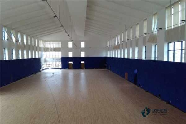 赛事场馆篮球木地板施工方案