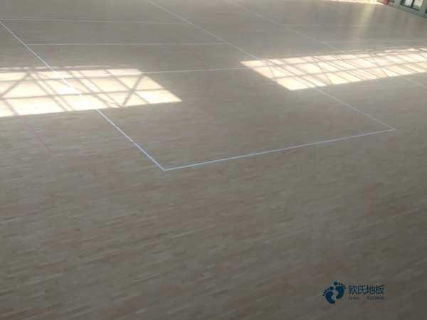 西藏专业篮球场地板哪家便宜