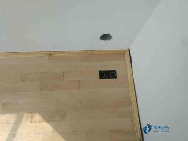 硬木企口实木运动地板安装工艺