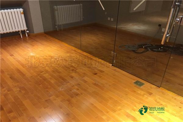 枫桦木舞台木地板直销
