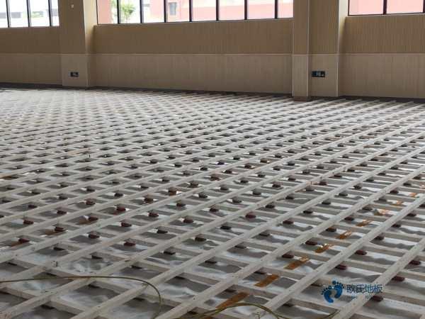 运动木地板安装如何验收