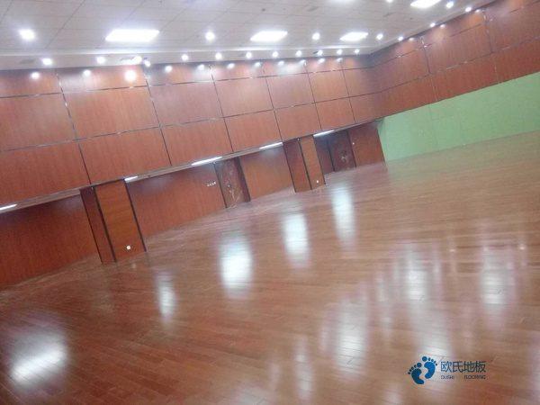 河南枫桦木篮球场地板价格及图片