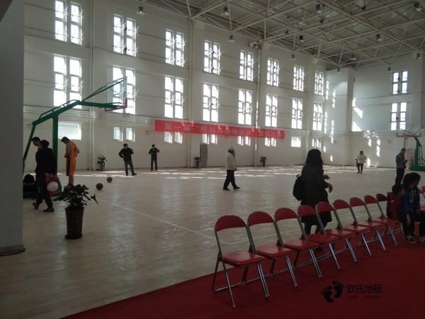 常用的篮球地板施工技术