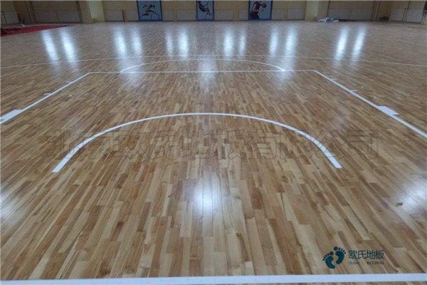 柞木舞蹈室木地板厚度