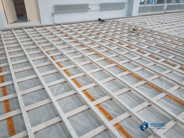 20厚篮球馆木地板规格
