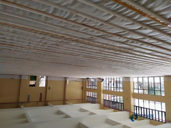 天津柞木体育木地板厂商