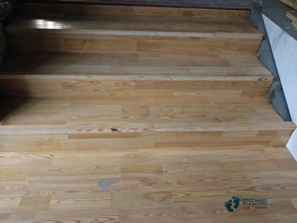 青海枫木实木运动地板多少钱一平米