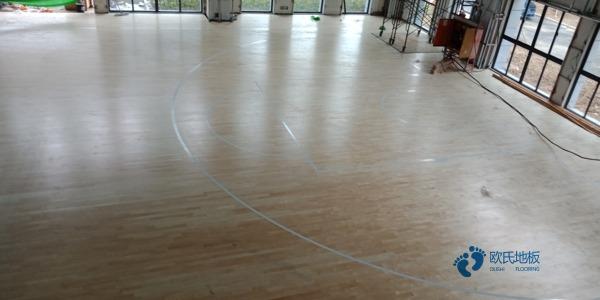 四川硬木企口篮球场地板哪家专业
