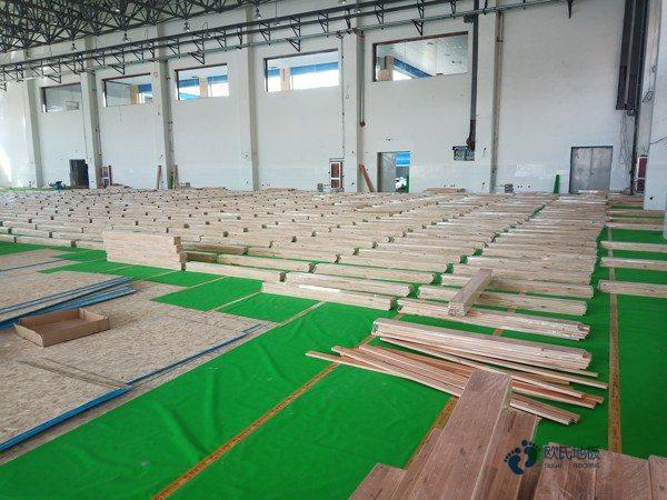 专业体育场木地板工厂