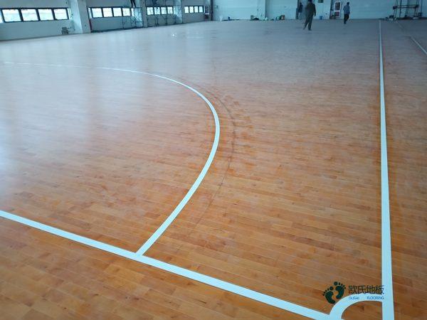 企口篮球场地板什么牌子好