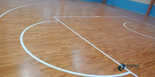 松木篮球场木地板每平米价格