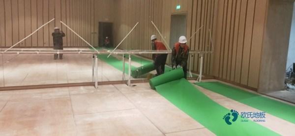 乌鲁木齐枫木实木运动地板厂家