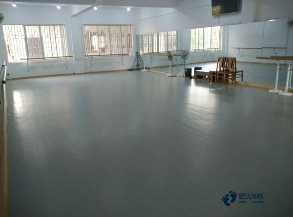 浙江枫桦木运动木地板结构