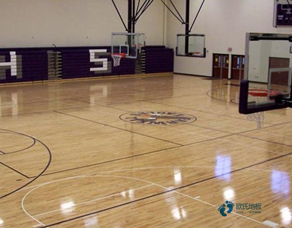 乌鲁木齐专业体育场地板怎么安装