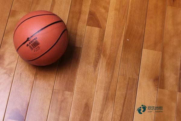 学校篮球场地板多少钱