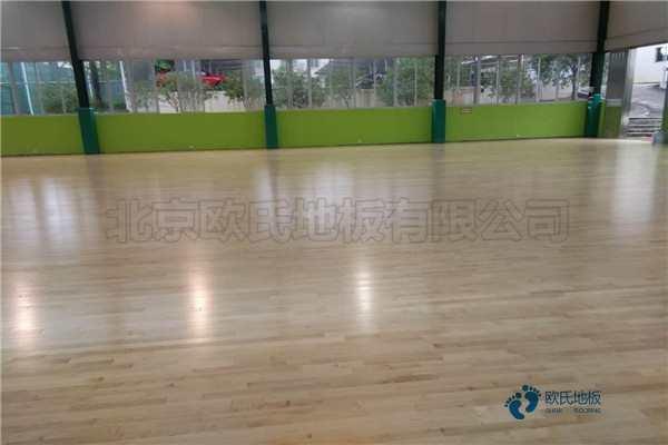 24厚篮球场实木地板生产厂家