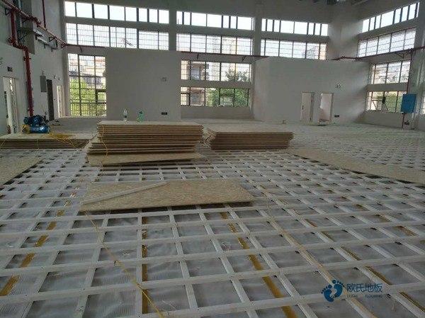 橡胶木舞台运动木地板生产厂家