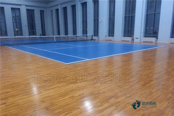 枫木篮球木地板怎么维修