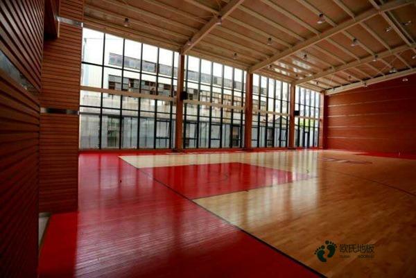 四川专用运动木地板施工方案
