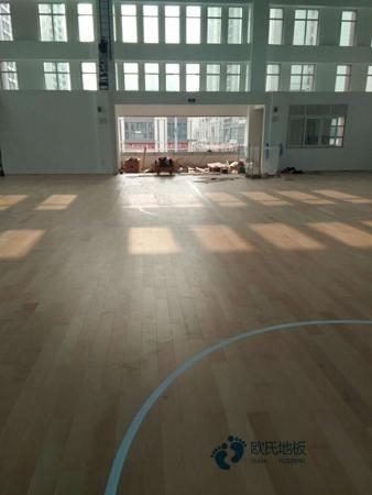 24厚羽毛球馆木地板规格