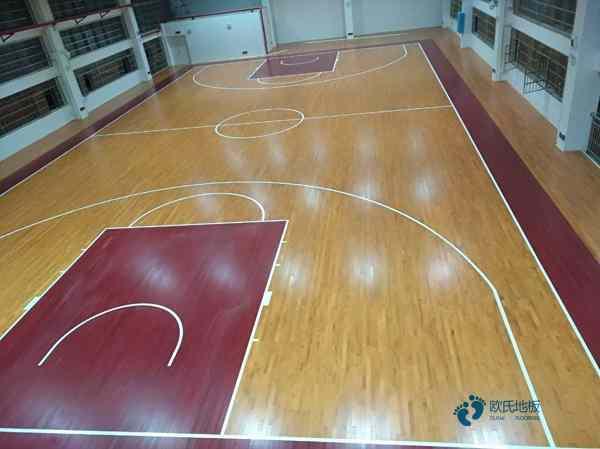 柞木篮球木地板报价
