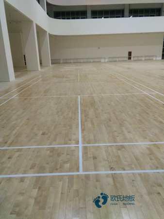 20厚木地板篮球馆造价