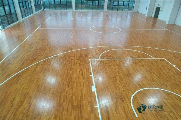 室内篮球木地板品牌电话