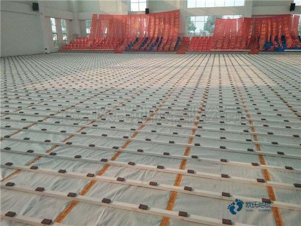 江苏柞木实木运动地板每平米价格