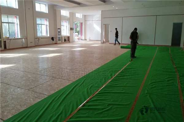 体育运动地板硬木企口生产厂家