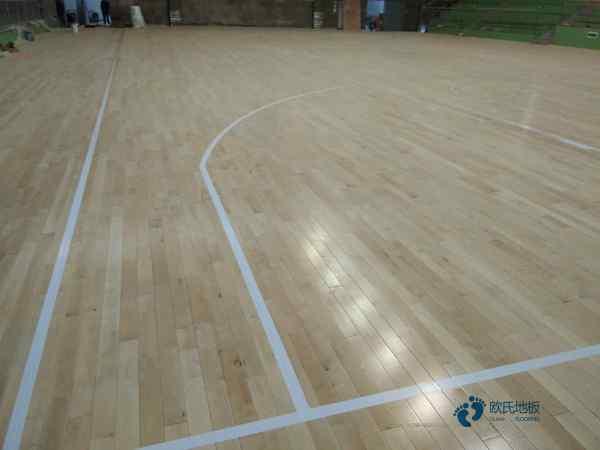 训练馆篮球场地板报价
