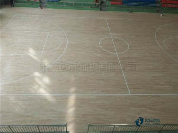 拼装体育馆木地板是多少钱