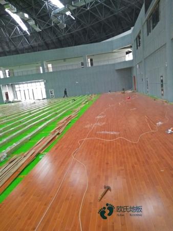 广州枫桦木篮球场地板厂家直销