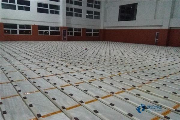 训练馆体育场木地板多少钱合适