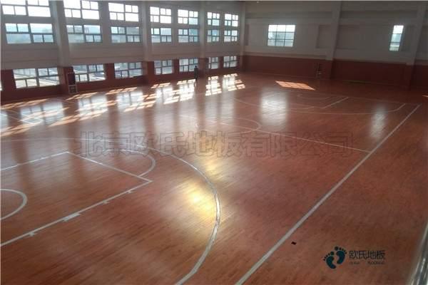 比赛场馆篮球馆地板批发