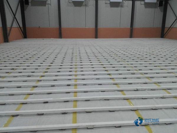 硬木企口体育地板是多少钱