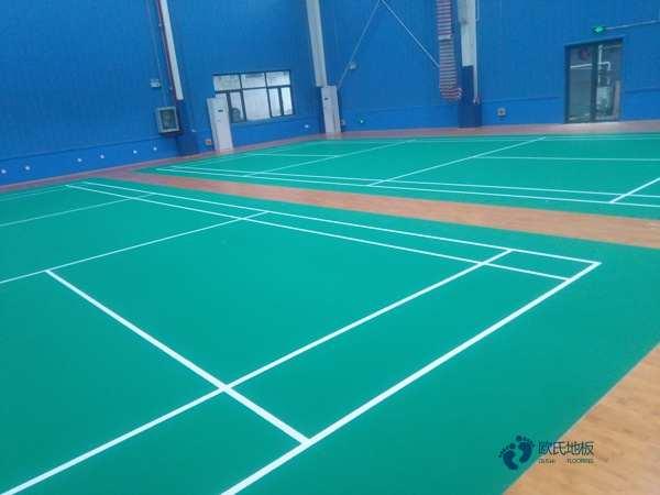 赛事场馆体育地板安装