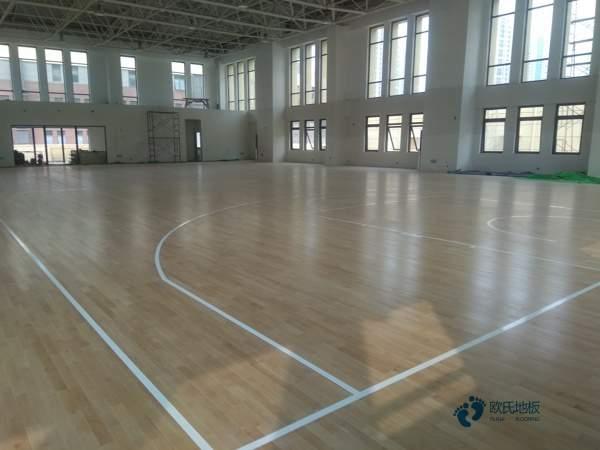 学校篮球场地板价格
